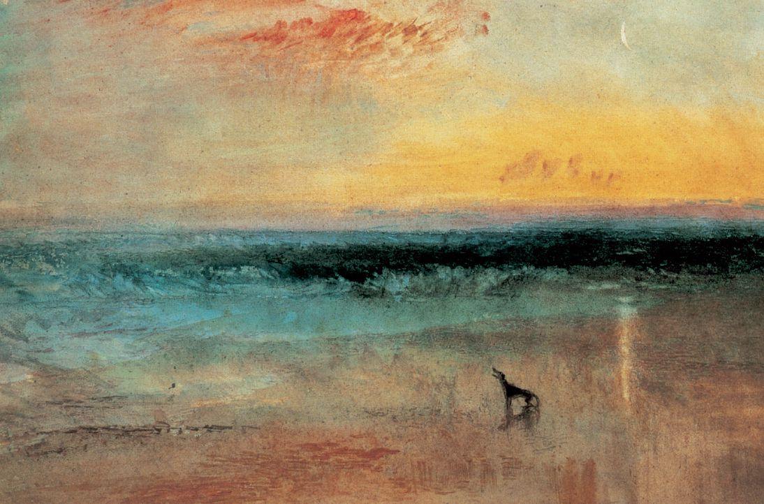 J. M. William Turner. «Amanecer tras el naufragio» (1841). Galerías del Instituto Courtauld. Colección de Sir Stephen Courtauld (Londres).