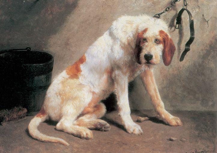 Rosa Bonheur. «Barbaro después de la caza» (sin fecha). Museo de Arte de Filadelfia. Colección Wilstach.