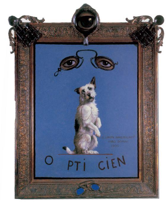 Jean-León Gèrôme. «El letrero de la óptica» (1902). Colección privada.