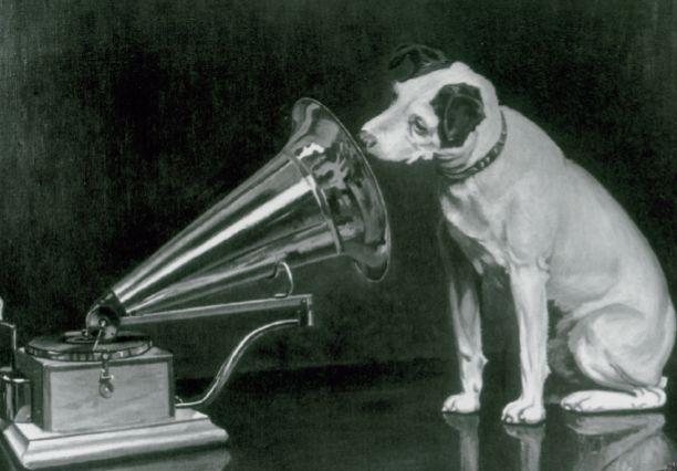 Francis Barraud. «La voz de su amo» (1898-99).