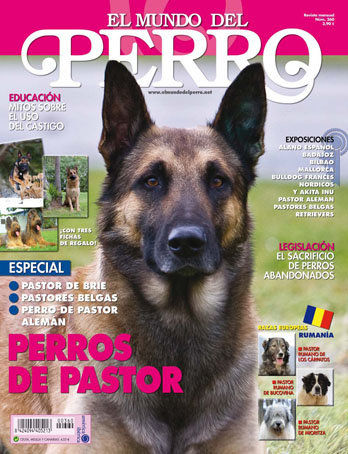 Portada El Mundo del Perro nº 360 / Marzo 2010