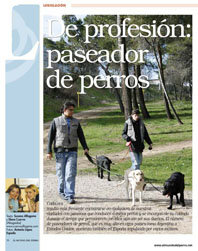 De profesión: paseador de perros