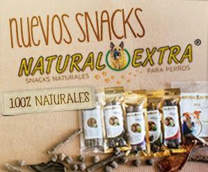 Natural Extra Snacks 100% naturales