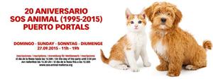 En su 20 Aniversario Puerto Portals acoge una nueva edición de la fiesta 'SOS Animal'