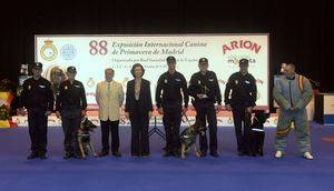 La Reina Doña Sofía visita la 88º Exposición Internacional Canina de Primavera