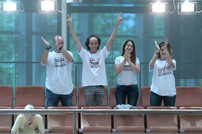 PP, PSOE, Podemos y Ciudadanos apoyan de forma unanime la ley que promueve El #Sacrificiozero impulsada por El Refugio