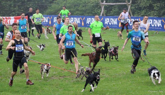 El 30 de octubre arranca el primer circuito de carreras de deportistas acompañados con perros
