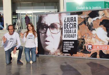Continúa el juicio a la presunta exterminadora de la protectora Parque Animal, Torremolinos (Málaga)