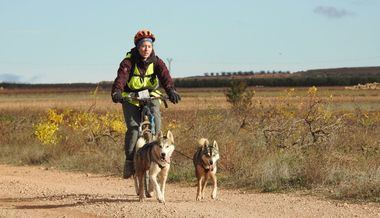 IIIª Ruta de Altomira - Carrera de Alfamén con perros de tiro