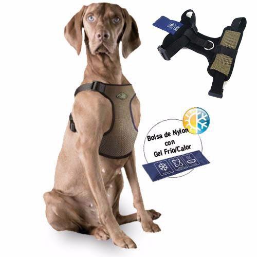Novedoso arnés con efecto frío y calor para perros. Ideal para todas las estaciones