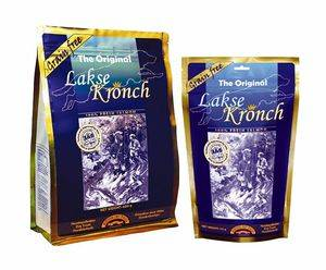 Nuevos snacks energéticos de salmón Lakse Kronch