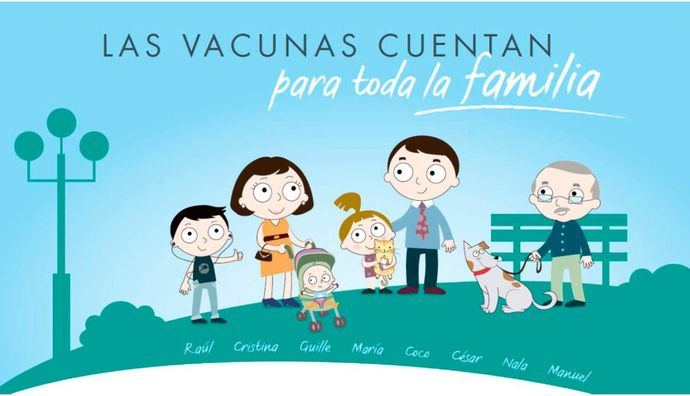 Profesionales sanitarios insisten en la necesidad de recordar los beneficios de las vacunas para todos los miembros de la familia