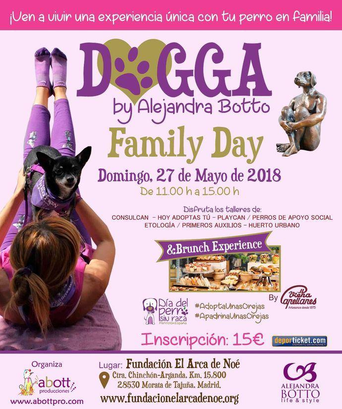 1ª edición Dogga Family Day & Brunch Experience para celebrar el Día del Perro Sin Raza