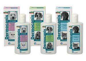 ECUPHAR presenta su renovada gama DERMOCANIS, una gama de productos de la más alta calidad para el cuidado de la higiene del pelo y piel de perros y gatos.