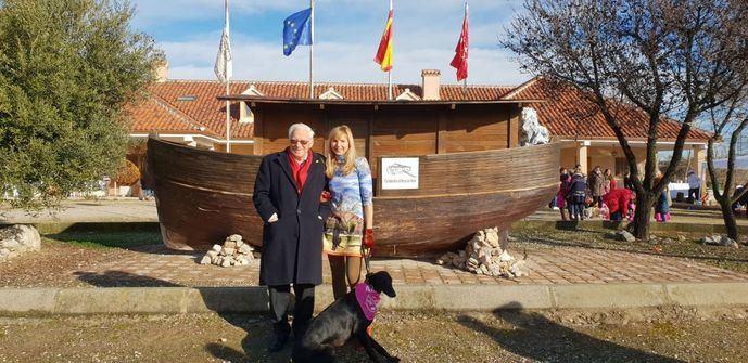 El Padre Ángel celebró San Antón 2019 en la Fundación El Arca de Noé