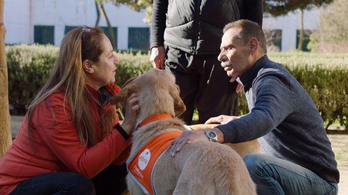 Las Terapias Asistidas con Animales de Compañía mejoran la conducta de los presos y su capacidad para relacionarse