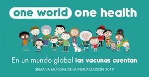 Si cae la tasa vacunación de rabia es un problema de salud pública Semana Mundial de la Inmunización del 24 al 30 abril