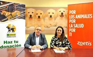 Zoetis favorece el control y monitorización de la salud de los perros guía mediante la firma de una colaboración con la Fundación ONCE del Perro Guía