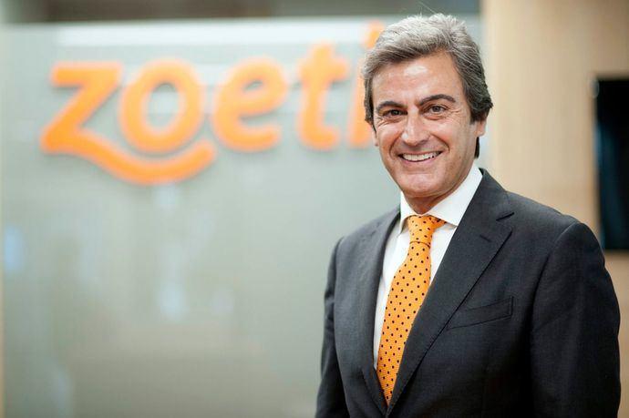 Félix Hernáez, director general de Zoetis España y Vicepresidente Senior de Zoetis Sur de Europa.
