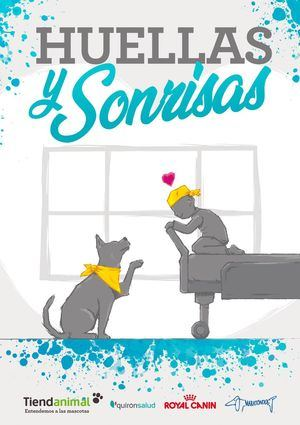 """""""Huellas y Sonrisas"""" llevará perros de asistencia a pacientes de Quirónsalud Málaga"""