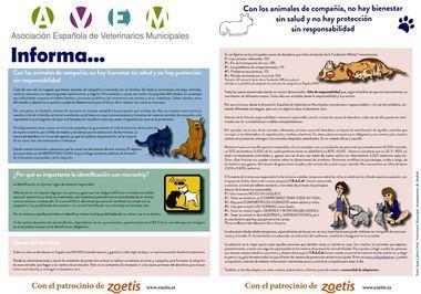Con los animales de compañía, no hay bienestar sin salud y no hay protección sin responsabilidad