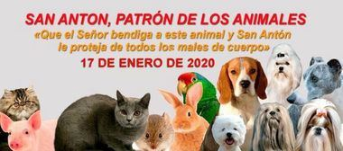 San Antón, patrón de los Animales - 17 de enero de 2020