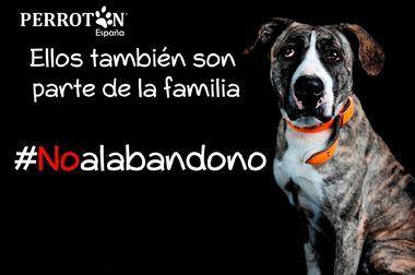 Perrotón España presenta campaña contra el abandono animal en plena crisis del COVID-19, iniciando la desescalada #QuedateConMiDog