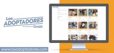 """Gosbi crea """"LosAdoptadores.com"""" para facilitar la adopción de perros y gatos"""