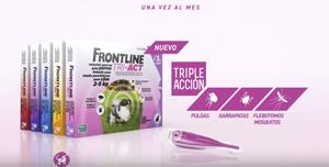 Merial apuesta por una campaña en televisión con un mensaje de protección y tranquilidad sobre el nuevo Frontline TRI-ACT