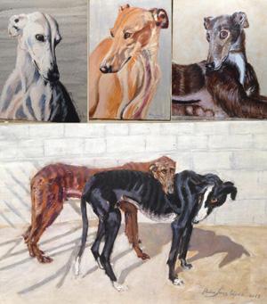 Exposición de Pintura al óleo del Pintor Pedro Sanz López