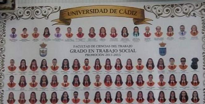 «Idena», la perra guía de uno de los alumnos se ha 'graduado' en Trabajo Social en Cádiz