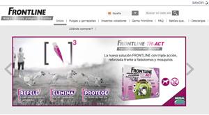 Frontline actualiza su web para acercar a los propietarios toda la información sobre su amplia gama de antiparasitarios