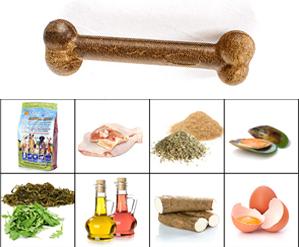 Hueso Suizo Lupo-Natural, el snack 100% natural, ideal para entretener y dar a tu perro un premio de alta calidad.